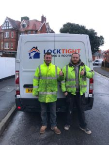 Roofing company Bournemouth van and roofers